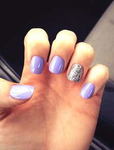 Nail Polish Different Colors One Hand Papillon Day Spa